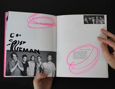 Fat Possum Artist Booklet by Elizabeth McMann, via Behance