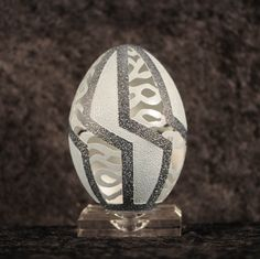 Intricate Egg Art by Brian Baity