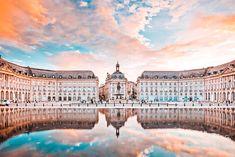 Best Honeymoon Destinations, Romantic Destinations, Amazing Destinations, Tours France, Air France, France City, Aquitaine, Paris Bordeaux, Saint Emilion