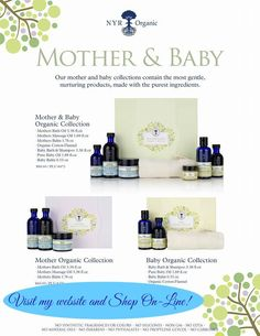 Mother and Baby organic products. Healthy product options for you and your baby. also perfect baby shower gifts. Order today from my website