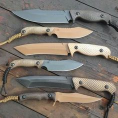 Wonderful display of some great knives...