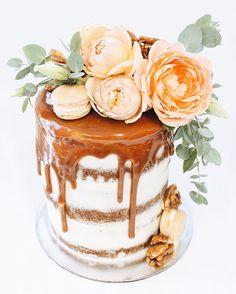 "6"" layers of vanilla bean, orange blossom & Persian love cake"