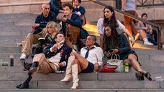 The Costumes In The Gossip Girl Reboot Have Had A Gen-Z Makeover | British Vogue Gossip Girl Voice, Gossip Girl Series, Gossip Girl Reboot, Live Action, Girls Hbo, Dan Humphrey, Tavi Gevinson, Popular Book Series, Finding Carter