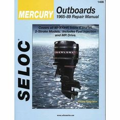 Seloc Marine Manual for Mercury Outboards, Multicolor