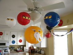 It was no surprise when Big Guy told me he wanted a Lego Ninjago Birthday Party. He is obsessed with it. First off I needed to come up with. Lego Ninjago, Ninjago Party, Lego Lego, Lego Batman, Ninja Birthday Parties, Birthday Fun, Birthday Party Decorations, Birthday Ideas, Lego Parties
