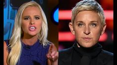 Tomi Lahren MOPS THE FLOOR with Ellen Degeneres