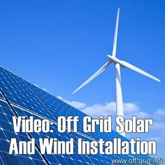 Please Share This Page: Video: Off Grid Solar And Wind InstallationPhoto – http://www.youtube.com/watch?v=Ajp0VkWZ9Jk This video tutorial is part one of a fantastic introduction to installing a complete off grid electrical power system. The presenter, LaMar Alexander, describes each component part of the system in detail, how it works, how to choose good quality products and [...]