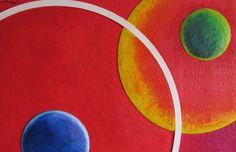 """Germanieto, """"Cuarta Galaxia"""", Parte 1  #SalóndelaPlásticaMexicana, Contemporary Art"""