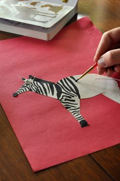Don't let alphabet practice turn into catching zzz's. Paint up a zany Z zebra and inject a little excitement into learning letters.