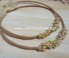ΧΕΙΡΟΠΟΙΗΤΑ ΣΤΕΦΑΝΑ ΓΑΜΟΥ VINTAGE ΣΤΕΦΑΝΑ ΓΑΜΟΥ ΡΟΜΑΝΤΙΚΑ ΚΑΙ ΙΔΙΑΙΤΕΡΑ,ΚΑΛΕΣΤΕ 2105157506 Orthodox Wedding, Flower Tutorial, Wedding Ideas, Crown, Wreaths, Flowers, Vintage, Fascinators, Crowns