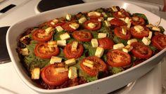 Marrokansk lasagne