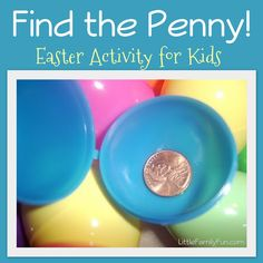 Fun and easy Easter game for kids!