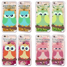 Head Case Mean Owls Sky Blue Liquid Glitter Case for Apple iPhone Samsung Phones | eBay