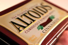 Bala Altoids Spearmint, latinha 50g - R$12,21 no DoceShop
