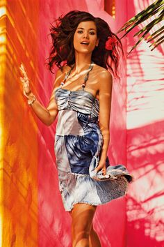 Jump and feel free with our Desigual dresses