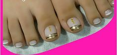 @pelikh_ ideas French Nails, French Pedicure, Pedicure Designs, Toe Nail Designs, Toe Nail Art, Toe Nails, Mani Pedi, Manicure And Pedicure, Cute Pedicures