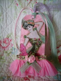 https://flic.kr/p/7zxsHE | pink,shabby,cottage,paris,,french,altered art,corset, tag 3 | now in my shop!! 2 sided tag (side 1) stefscottage72.etsy.com  or at lollishops.com (cotton candy cottage)