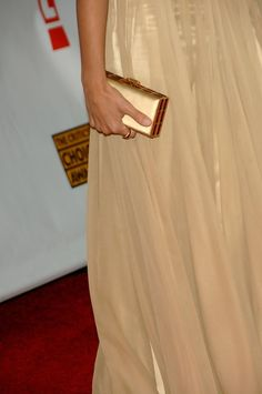 The bag and ring of actress Penelope Cruz is seen as she arrives at the 12th Annual Critics' Choice Awards held at the Santa Monica Civic Auditorium on January 12, 2007 in Santa Monica, California.
