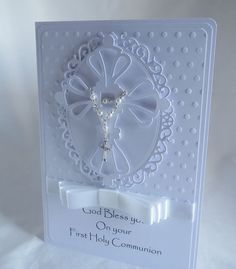 First Holy Communion Handmade card £3.99