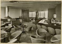 Lässige Lounge:  Stilvoll konnten die Gäste des Berliner Hilton Hotels in der...