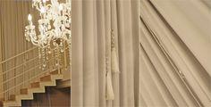 Passo a passo pingente de cortina com tassel.