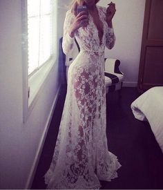 Cheap dress sleep, Buy Quality dress up games girls games directly from China dress up christmas games Suppliers: 			  	2015 White Lace Crochet Party Maxi Dress To Floor Perspective Sexy Vestidos De Renda Vestidos Longo Court Lon