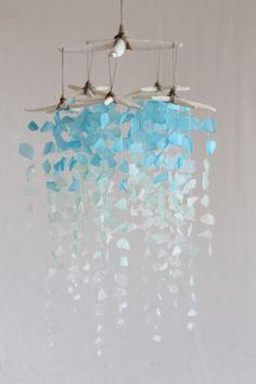 Sea Glass & Starfish Mobile