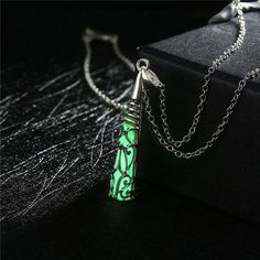 Glow in the Dark Pendant Necklace in 4 Beautiful Styles