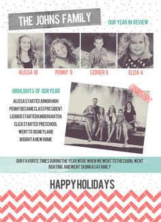 Infographic Newsletter Letter Christmas Card Christmas Card Sayings, Christmas Trivia, Favorite Christmas Songs, Christmas Is Coming, Family Christmas, Christmas Presents, Christmas Holidays, Merry Christmas, Holiday Greeting Cards