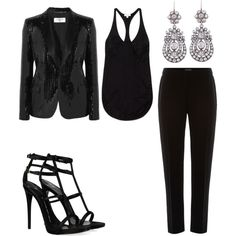 """""""All Black Everything"""" by marissa-91 on Polyvore"""