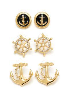 Nautical Earring Set