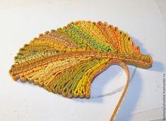 Создаем из полимерной глины брошку «Осенний лист» в технике «рваный край» - Ярмарка Мастеров - ручная работа, handmade