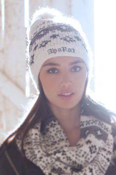 Snowed In - Beanie Ski Bunnies, Bunny, Chalet Chic, Alpine Style, Ski Gear, Snow Fun, Apres Ski, Winter Wear, Keep Warm