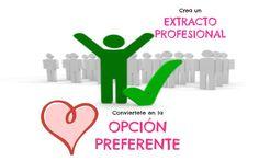 Crea un extracto profesional en linkedin y conviértete en la opción preferente | Silvia Cueto