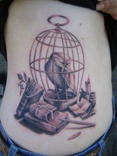 beautiful harry potter tattoo