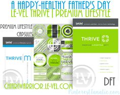 Le-vel Thrive Men #FathersDayGifts #Thrive