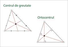 Înălţimile unui triunghi Definiţia înălţimii O înălţime a unui triunghi este segmentul determinat de un vârf al triunghiului şi piciorul perpendicularei dusă din acel vârf pe dreapta care conţine latura opusă. Ortocentrul triunghiului Dreptelele care includ cele trei înălţimi ale ... Chart, School