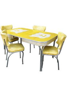 50s Diner Kitchen Table And Chairs