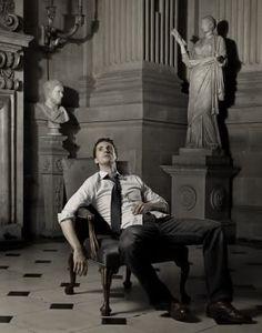 Great shot of Matthew Goode, now starring in Stoker