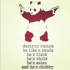 #panda #racism #funnny