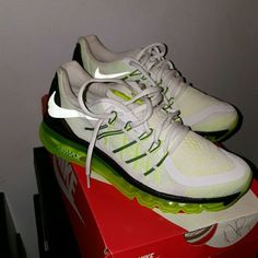 Nike Air Max 2015 GS Size 6 equals size 8 womens Brand new never worn only to try on Could also fit a size 7.5 in womens Nike Shoes Sneakers