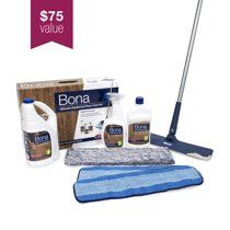 Bona Ultimate Hardwood Floor Care Kit Walmart Com In 2020 Hardwood Floor Care Floor Care Flooring