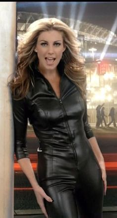 Leather Catsuite