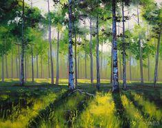 Aspen Trees by artsaus.deviantart.com on @deviantART