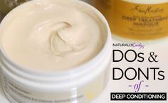 The Dos & Don'ts of Deep Conditioning | http://www.naturallycurly.com/curlreading/kinky-hair-type-4a/the-dos-and-donts-of-deep-conditioning