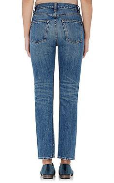 Brock Collection Selvedge-Denim Straight-Leg Jeans - Jeans - 504651853