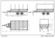 Cross RC Utility Trailer Kit w/ Tarpaulin & Lighting Kit 739792101502 Utility Trailer Kits, Tarpaulin, Scale, Floor Plans, Trucks, Lighting, Ebay, Weighing Scale, Light Fixtures