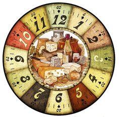циферблаты – 965 фотографий | ВКонтакте Clock Craft, Diy Clock, Clock Decor, Vintage Diy, Vintage Signs, Vintage Postcards, Clock Face Printable, Paper Clock, Kitchen Clocks
