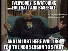 THE NBA IS BACK  - NBA Memes - http://weheartnyknicks.com/nba-funny-meme/the-nba-is-back-nba-memes