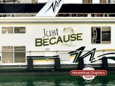 Houseboatgraphicsboatstripesdecalsname Graphics And Logos - Custom designed houseboat graphics